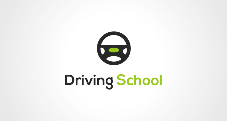 Driving School Logo