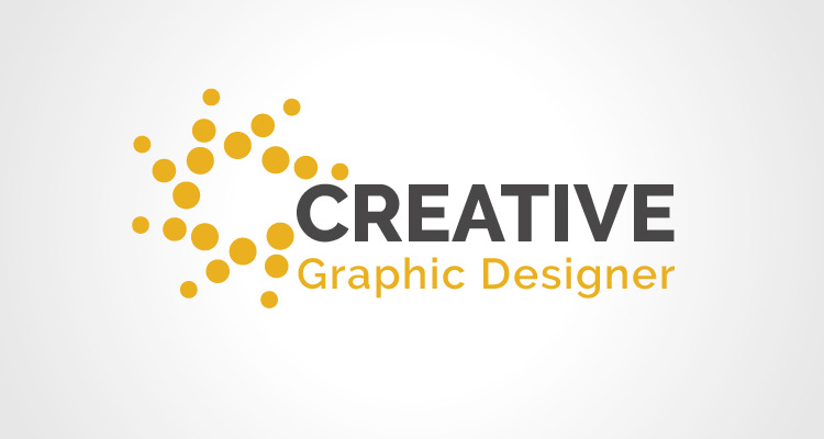 Graphic designer Logo