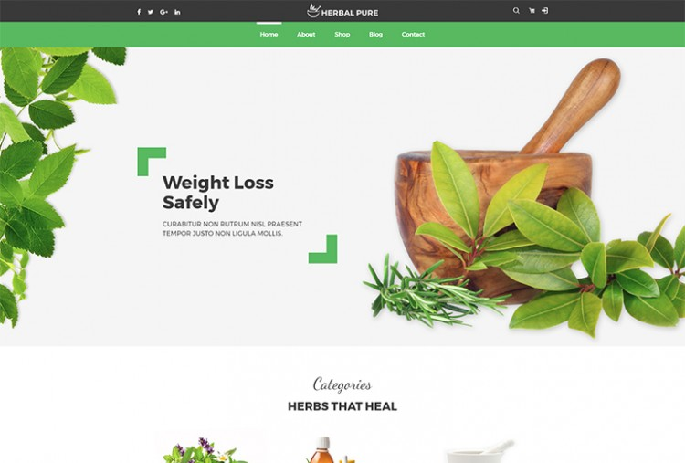 Herbal Pure HTML Template
