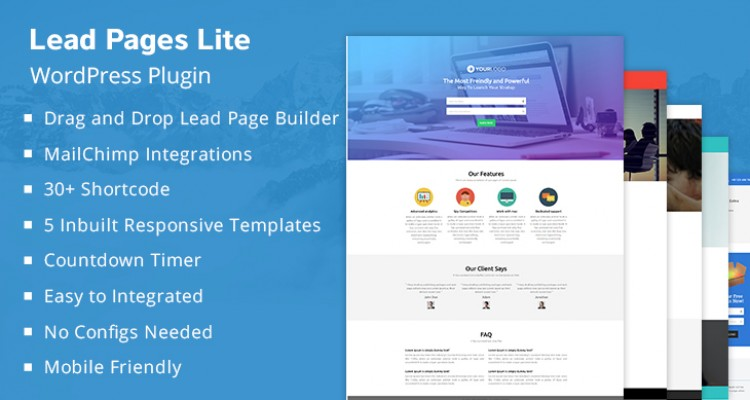 Lead Capture Lite  WordPress Plugin