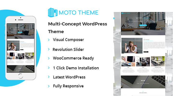 Shared Office Spaces WordPress Theme