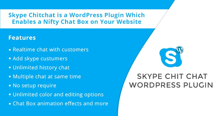 Skype Chitchat WordPress Plugin