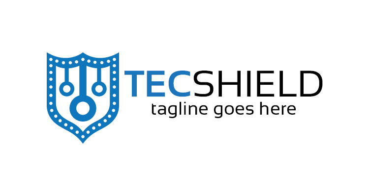 Technology Shield Logo